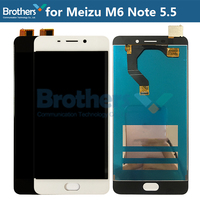 LCD Screen For Meizu M6 Note LCD Display for Meizu M6 Note LCD Assembly 5.5'' Touch Screen Digitizer Phone Replacement Tested