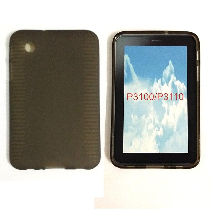 For Samsung Galaxy Tab 2 7.0 P3100 P3110 P3113 Silicone Rubber Colors Sofe TPU Cover Skin Tablet cases Y3030D радиатор охлаждения газ 3110 медный 3 рядный