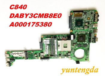 Original for Toshiba C840  motherboard  DABY3CMB8E0 A000175380 tested good  free shipping connectors