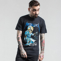 Vnitage Heavy Metal Rock Men S T Shirts Homme Beauty Sull Printed T Shirt