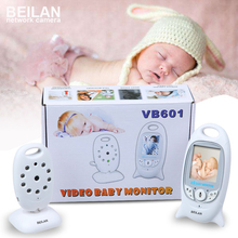 Wireless nanny video baby monitor camera LCD electronica Night vision IR temperature smart audio monitor bebe