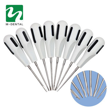 8 pcs/set Minimally Invasive Dental Elevator Very Minimally Invasive Tooth Extraction Tooth Quite Dentist Instrument