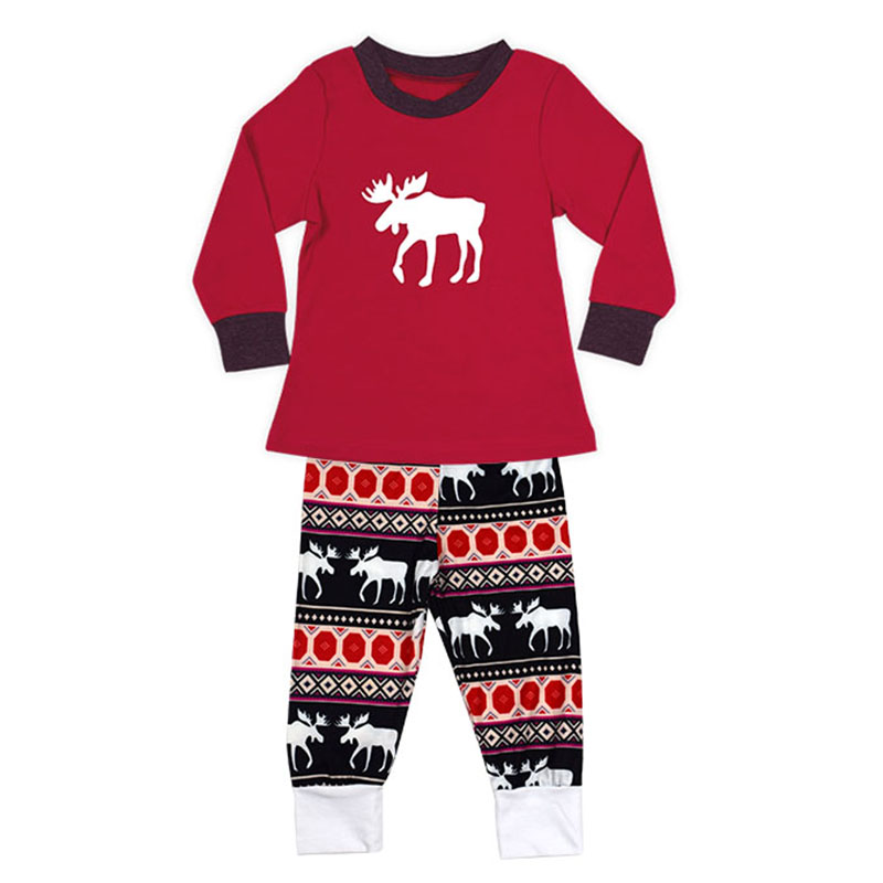 NEW Christmas pjs family matching family xmas pajamas set adult kids  sleepwear new year mother father boys girls photos prop hot-in Matching  Family Outfits ... 47523629c