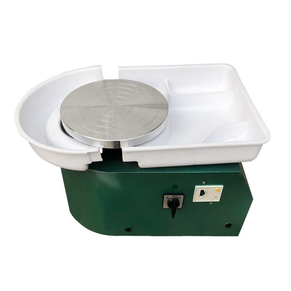 Poterie formant la Machine 250 W poterie électrique roue éducatif créatif argile pour travaux pratiques outil 110 V/220 V avec plateau pour travaux en céramique