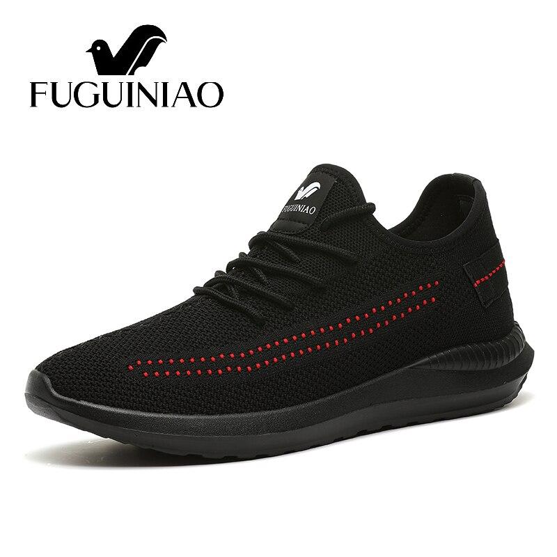 Homens black 44 luz Casuais Preto Condução 38 Frete tamanho Black Fuguiniao With De All Sapatos Grátis Outono Respirável Sapatas Sapatos Dos Red cor 0RTzSq