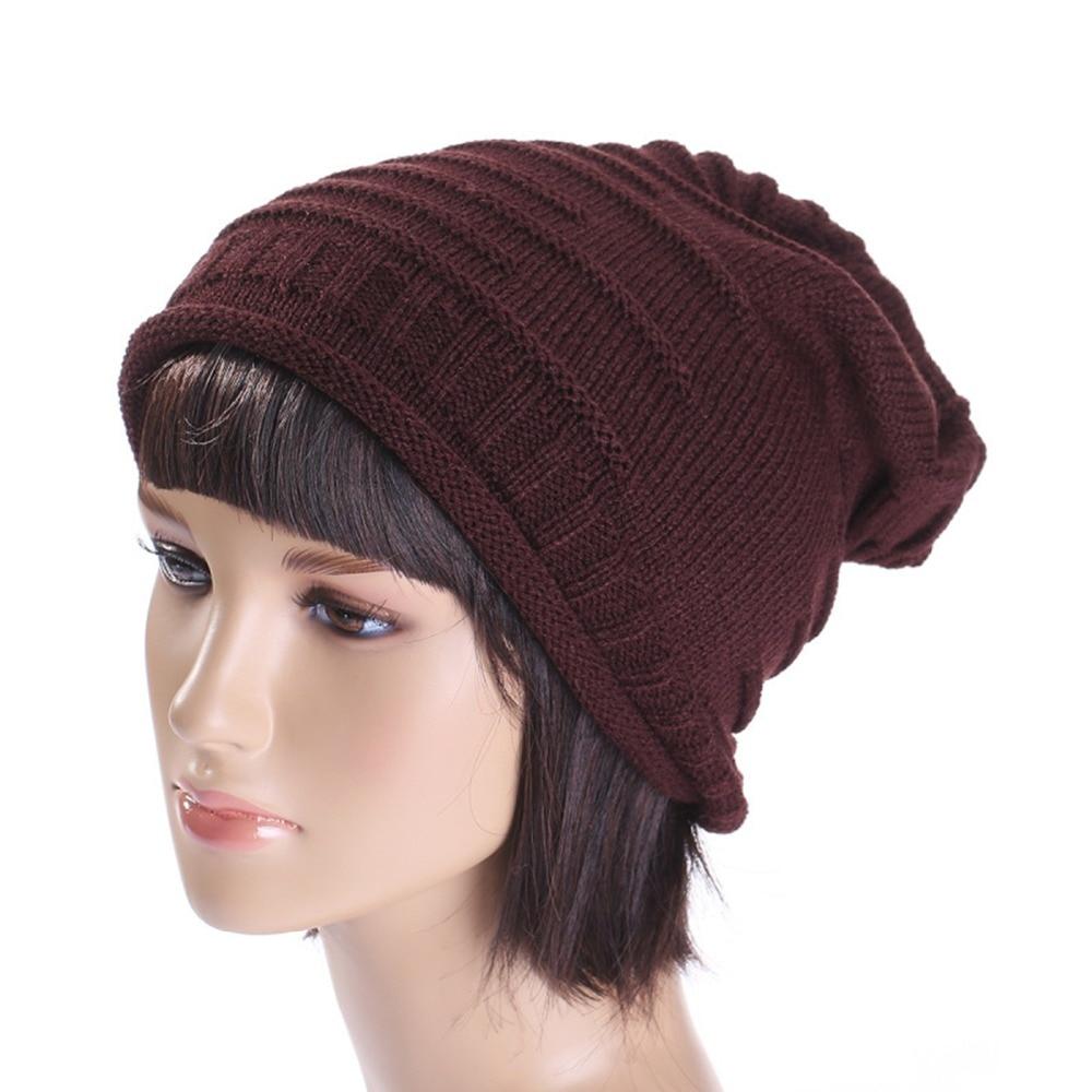 Hip-hop   Beanie   Solid Cap for Man & Woman Winter Unisex Warm Fall   Skullies     Beanie   Soft Knit Hat Warm