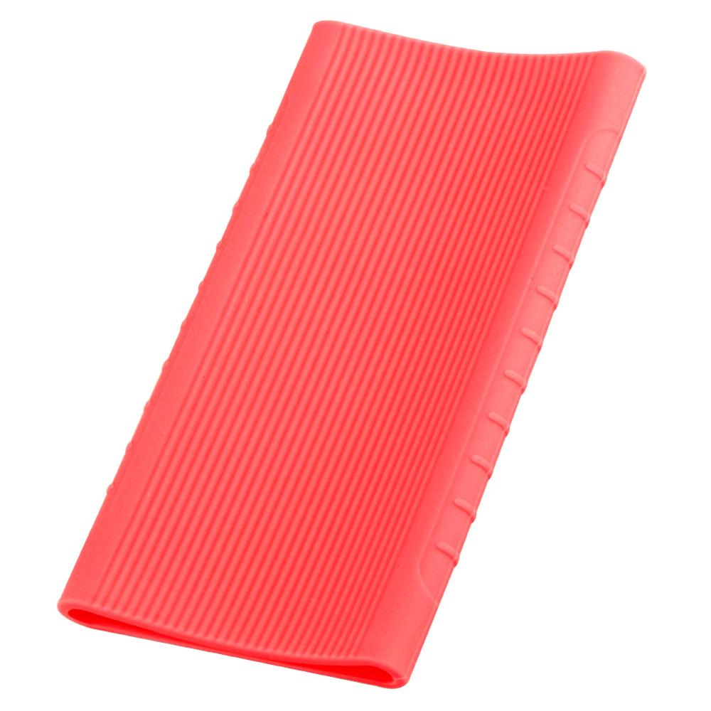 Silicone Case for Xiaomi Power Bank 5000mAh PLM10ZM/NDA-02-AM Rubber Shell Bags for Portable External Battery Pack