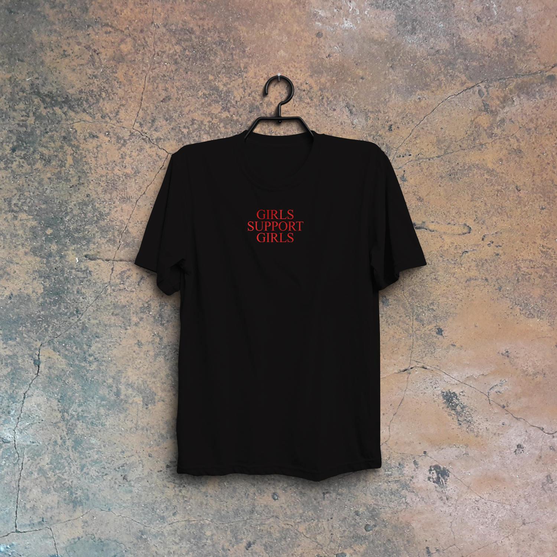 8ef06b348f Feminist Shirt Women Plus Size Feminism Tee Girls support girls tshirt Top  Funny Chic Female T Shirt Femme Streetwear T F7097-in T-Shirts from Women's  ...