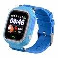 Desconto de Natal relógios com Rastreador GPS + WIFI + LBS Crianças e apoio Spainsh Russa idioma polonês