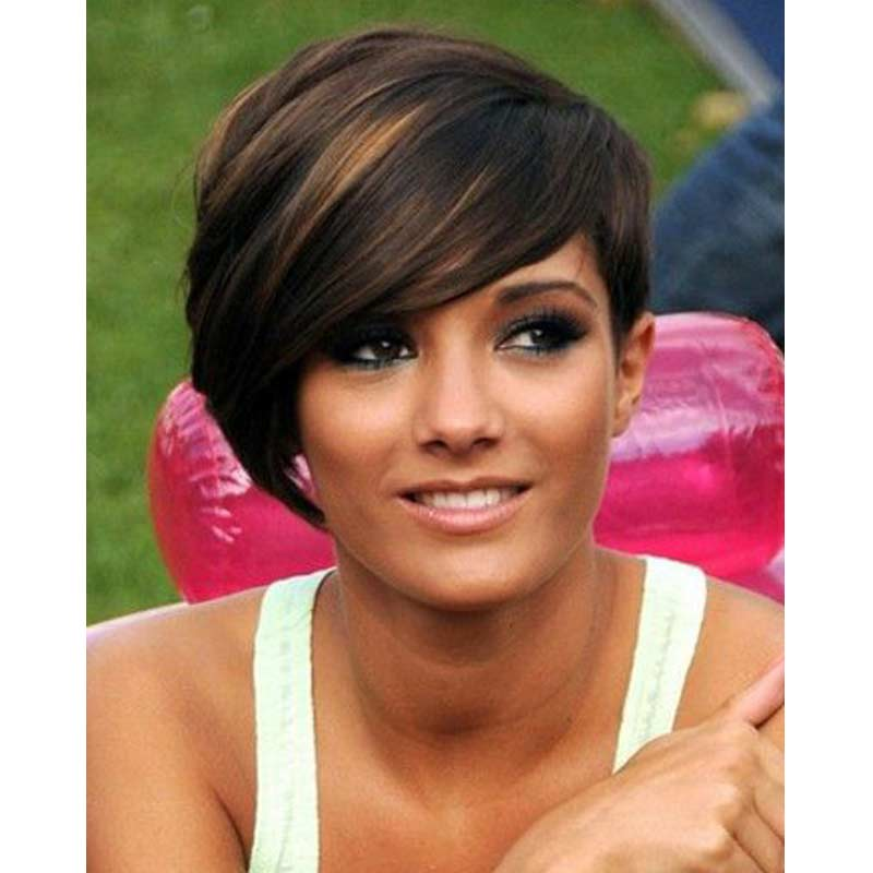 Short Wigs for Black Women Synthetic Pixie Cut Wig for Women African ...