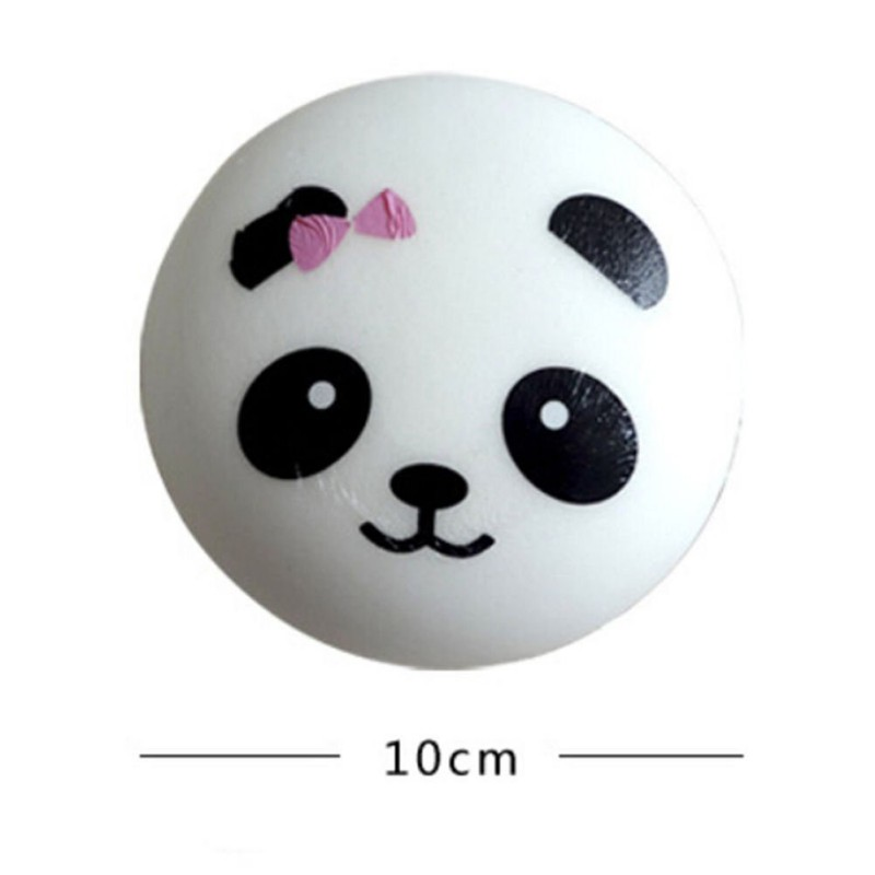 Kids Lovely 3.9 Inch Squishy Slow Rising Panda Strap Toy Baby Kids Funny Toys Anti Stress Toys Hh Hh A
