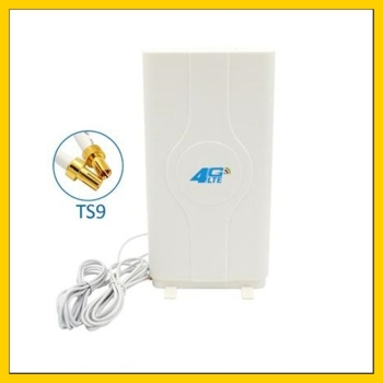 LF-ANT4G01 Indoor high gain external antenna  4G LTE MIMO Antenna with  2m cable  double Connector TS9 port indoor high gain 700 2600mhz 4g lte mimo antenna with 2 pcs 2m cable with crc9 sma ts 9 male connector