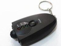 50 шт. цифровой тестер алкоголя метр детектор Drunkometer Алкотестер вино Checker Finder мини монитор для водителя полиции