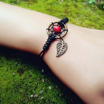 Bracelet attrape rêve en corde 1