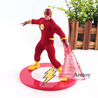 DC Comic The Flash Action Figure Speed Force Runing PVC Collectible Toy 15cm KT4741