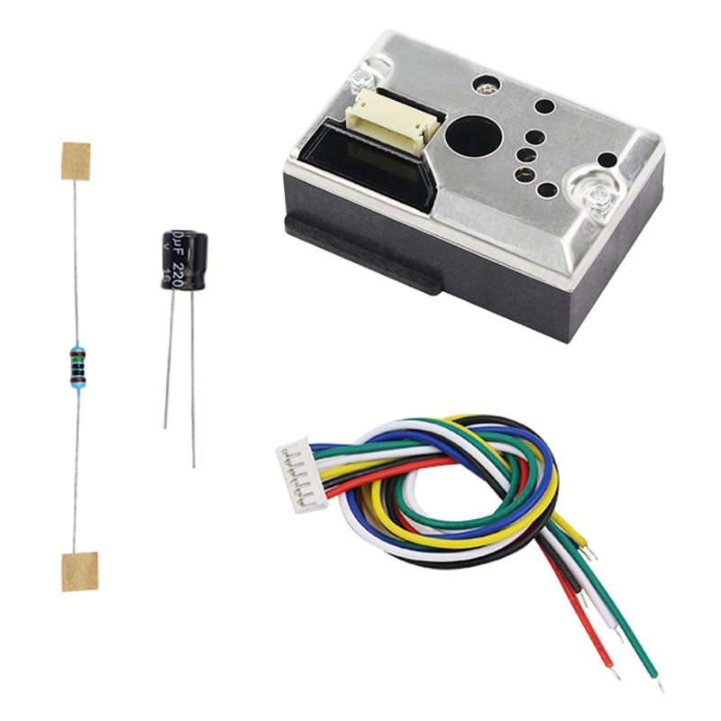 New Arrival Dust Sensor PM 2.5 Smoke Particles Sensor Module With Cable For Air Condition