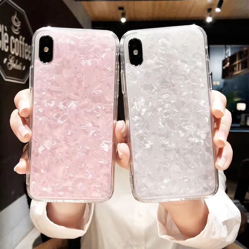 NFH Luxury Bling Phone Case For iPhone 8 Plus Soft TPU Silicone Case For iPhone8 Phone Accessories Coque On X 7 6 6S Plus 10