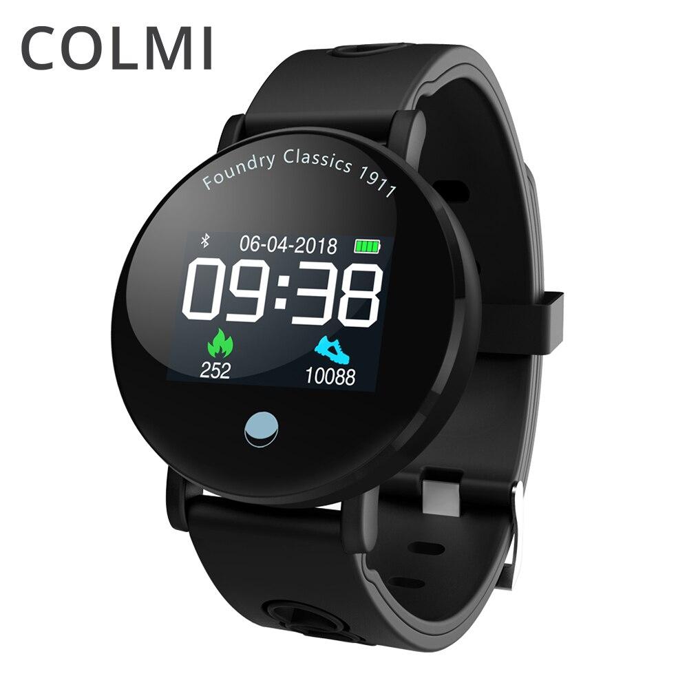 COLMI IP68 Водонепроницаемый Смарт-часы крови кислородом Давление монитор сердечного ритма Смарт Браслет Фитнес трекер поля Smartwatch