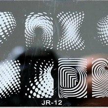 Nails Stamping Plates Polish Nail-Art-Image Printing Beauty Designs 12 0012-6--12cm NEW