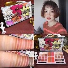 New 28 Color Eyeshadow Palette Shimmer Matte Glitter Pigment Pallete Longlasting Waterproof Makeup Cosmetic