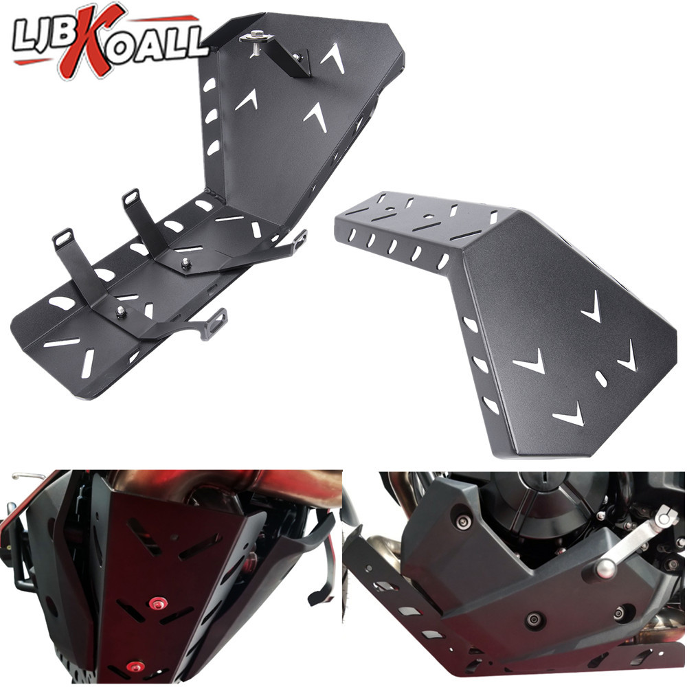 Motorcycle Eninge Protector Bash Skid Plate For Kawasaki Versys X 300 KLE300 Versys X 300 KLE 300 KLE 300 2017 2018 2019 Black|Covers & Ornamental Mouldings|Automobiles & Motorcycles - title=