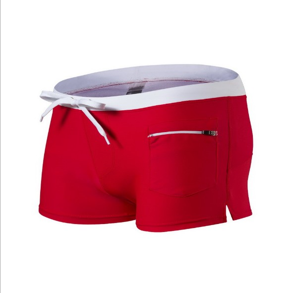 2018 Summer Swimwear Men Swimsuit Maillot De Bain Boy Suits Boxer Shorts Trunks Surf Banadores