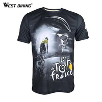 2015 Tour De France To Commemorate The Rappelling Breathable Wicking Bike Bicycle Cycling Jersey Printed Short