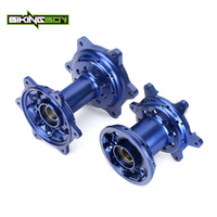 BIKINGBOY Front Rear Wheel Hub for Yamaha YZ250F YZ450F 09 10 11 12 13 YZ F 250 YZF 450 Complete 36 Holes MX Motocross Off Road