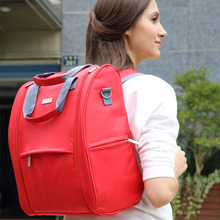 IIILOVEBABY Fashion Mummy Maternity Nappy Bag Large Capacity Diaper Bag Travel Backpack Nursing Bags for Baby Care Women's Bag цена 2017
