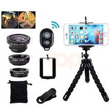 Kogngu Wide Angle Macro Fisheye Lens Camera Mobile