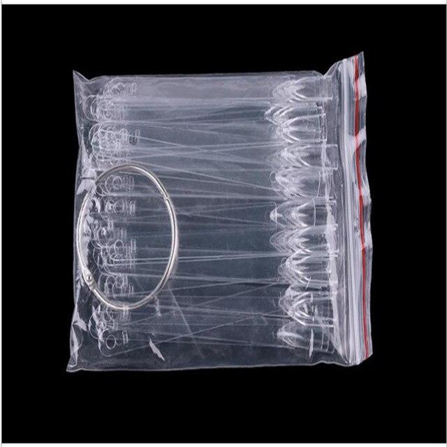 50 قطعة مسمار الفن كاذبة الممارسة عرض شفاف اللون الطبيعي الرسم البياني الاكريليك UV أظافر صناعية مانيكير ملصقات وهمية