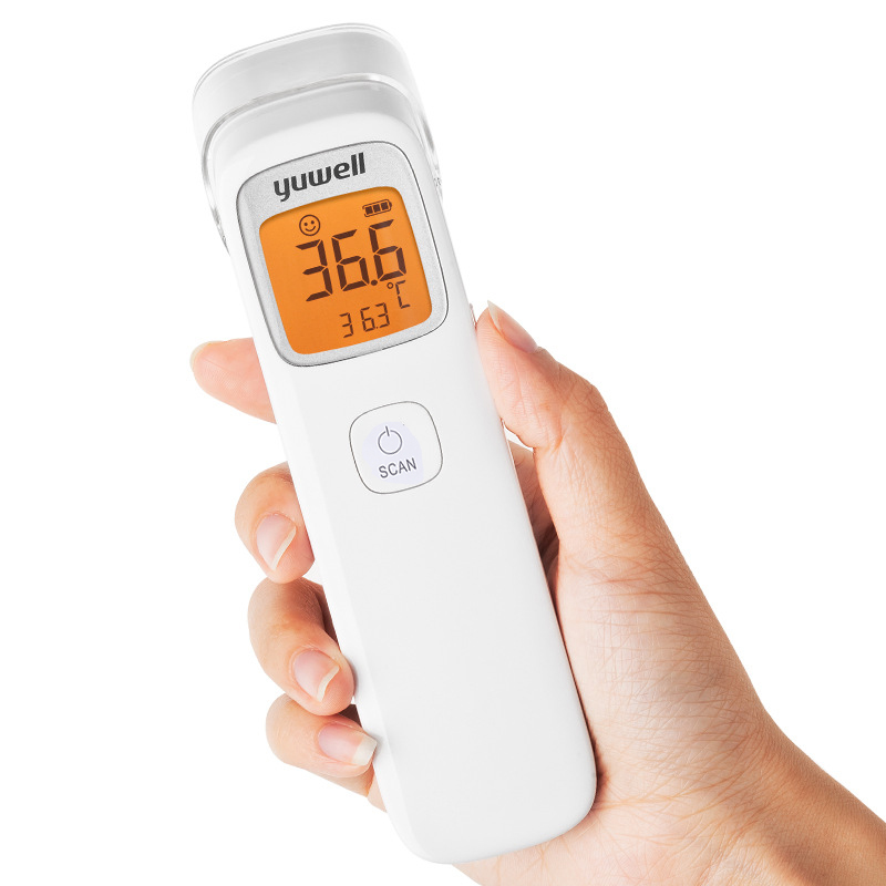 Yuwell Baby Digital Noncontact Infrared Forehead Thermometer Infrared Hydrothermograph Children Body Hermograph Accurate YHW-2-1-17