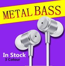 100% Original JMF 3.5mm In-Ear phone Earphone bass Headset For Xiaomi IPhone 5 5S 4 Samsung MP3 MP4  Free Shipping