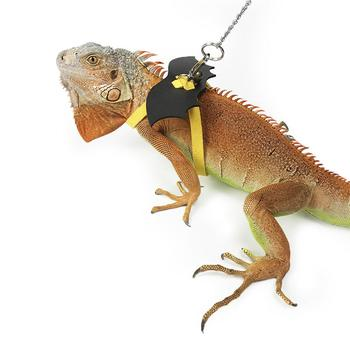 Lizard Harness Reptile Lizard Traction Rope For Lizard Bearded Dragon Iguanas Reptile Pet Outing Leash Belt фото