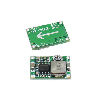 1PC Mini360 RC Power Supply Step-Down Power Module Adjustable DC-DC Synchronous Rectification Module/Car Power Supply image