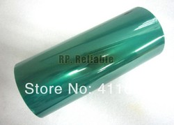 Promotion! 1x 250mm*33M*0.08mm Green PET Film Adhesive PCB Masking Tape, High Temperature Resist