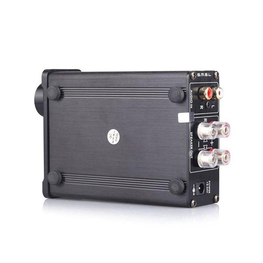 Высокое качество SMSL SA-36A Pro 20WX2 TDA7492PE Hifi стерео цифровой аудио усилитель мощности класса d усилитель с 12 В источник питания