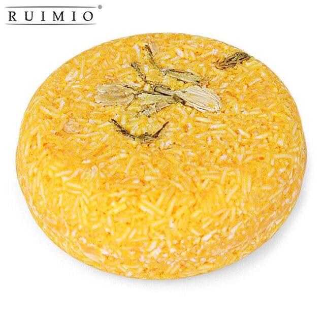 Sabonete artesanal de Controle de Óleo Shampoo Anti-Queda de Cabelo Shampoo Anti-Caspa Levantando Jasmim Sabão Cuidados Com Os Cabelos