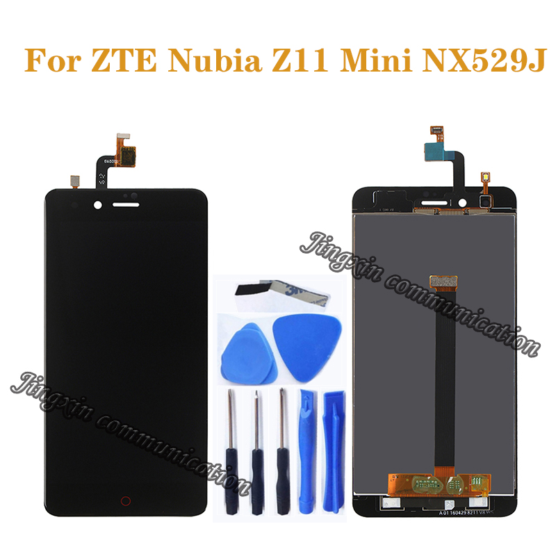 100% test new For <font><b>ZTE</b></font> <font><b>Nubia</b></font> <font><b>Z11</b></font> <font><b>Mini</b></font> NX529J LCD + <font><b>touch</b></font> <font><b>screen</b></font> digitizer component replacement for <font><b>nubia</b></font> <font><b>z11</b></font> <font><b>mini</b></font> nx529j display image