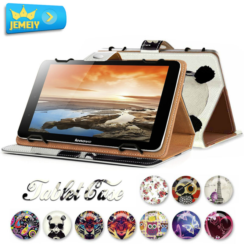 7Inch For Lenovo A3000 Quad Core /Lenovo S5000 Tablet Leather Case , Girl Printed Universal tablet cover For Lenovo Tablet Bag