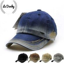 Four seasons outdoor recreational baseball cap new brand cotton men women general fast reply golf cap denim blank