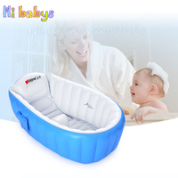 Baby Bath Tub Infant Bathtub Portable Inflatable Thickening Washbowl Keep Warm Children Anti Slippery Swimming Pool Baby Care