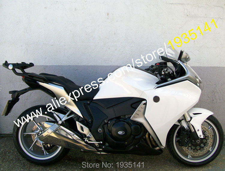 Hot Sales,For Honda VFR1200 2010 2011 2012 2013 VFR 1200 10-13 White Black Bodyworks ABS Motorcycle Fairing (Injection molding) bigbang 2012 bigbang live concert alive tour in seoul release date 2013 01 10 kpop