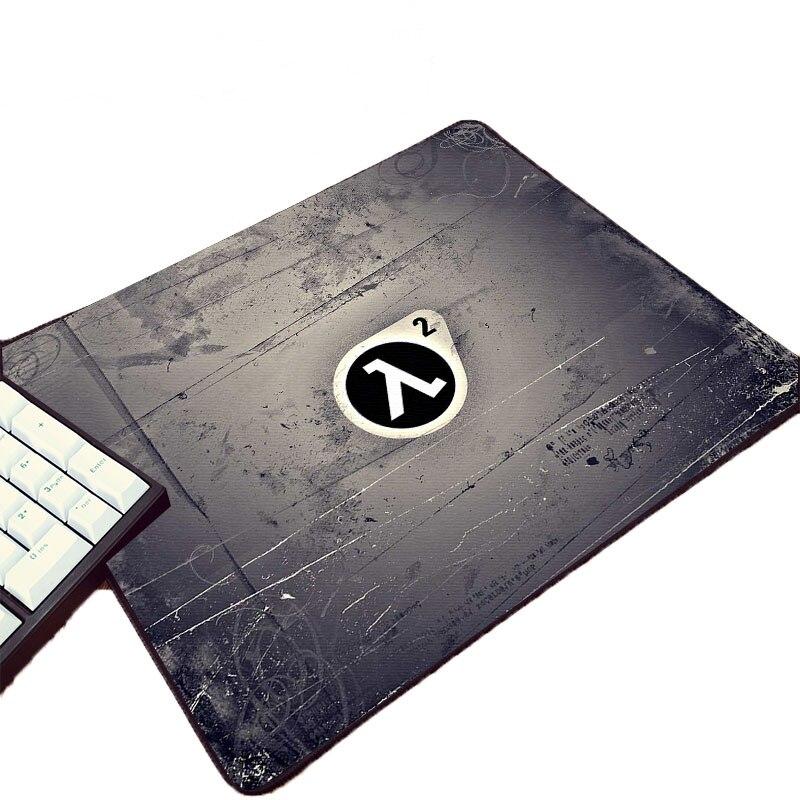 Mairuige diy personalizado projete o teste padrão do logotipo da série da meia vida do jogo de vídeo do jogo impresso mouseapd do rato do computador para decorar