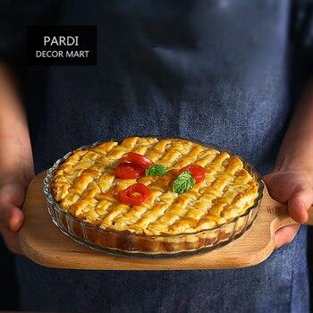 21 см круглый бокал пирог посуда для фруктов формы для выпечки пиццы Пан противень для тортов фруктовый пирог, apple Pie 1 шт./лот