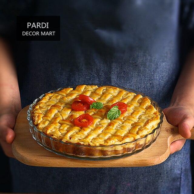 21 см круглый бокал пирог посуда для фруктов формы для выпечки пиццы выпечка сковорода для тортов фруктовый пирог, яблочный пирог 1 шт./лот