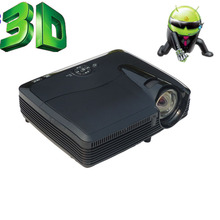 DLP Projector 3600 ANSI Lumens1024*768 HD Theater HDMI VGA AV  For Business Meeting Movie Video Black Color