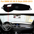 2016 Car Styling Dashboard Protective Mat Shade Cushion Photophobism Pad Interior Carpet For BMW X5 X6 B Style 2009-2013
