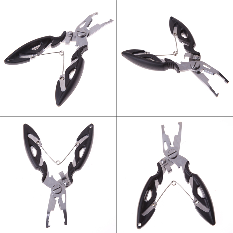 1 pc Multifunctional Fishing Plier Steel Tackle Lure Hook Remover Line Cutter Scissors Carp Fishing Shears pesca acesorios peche multifunctional fishing pliers stainless steel fishing plier cutter fishing scissors with knife protective bag lure fishing tool