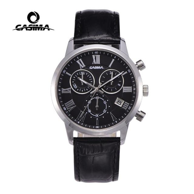 Relogio Masculino CASIMA קוורץ שעון גברים למעלה מותג יוקרה שעון יד Mens לוח שנה שעון עור עסקי שעות Montre Homme